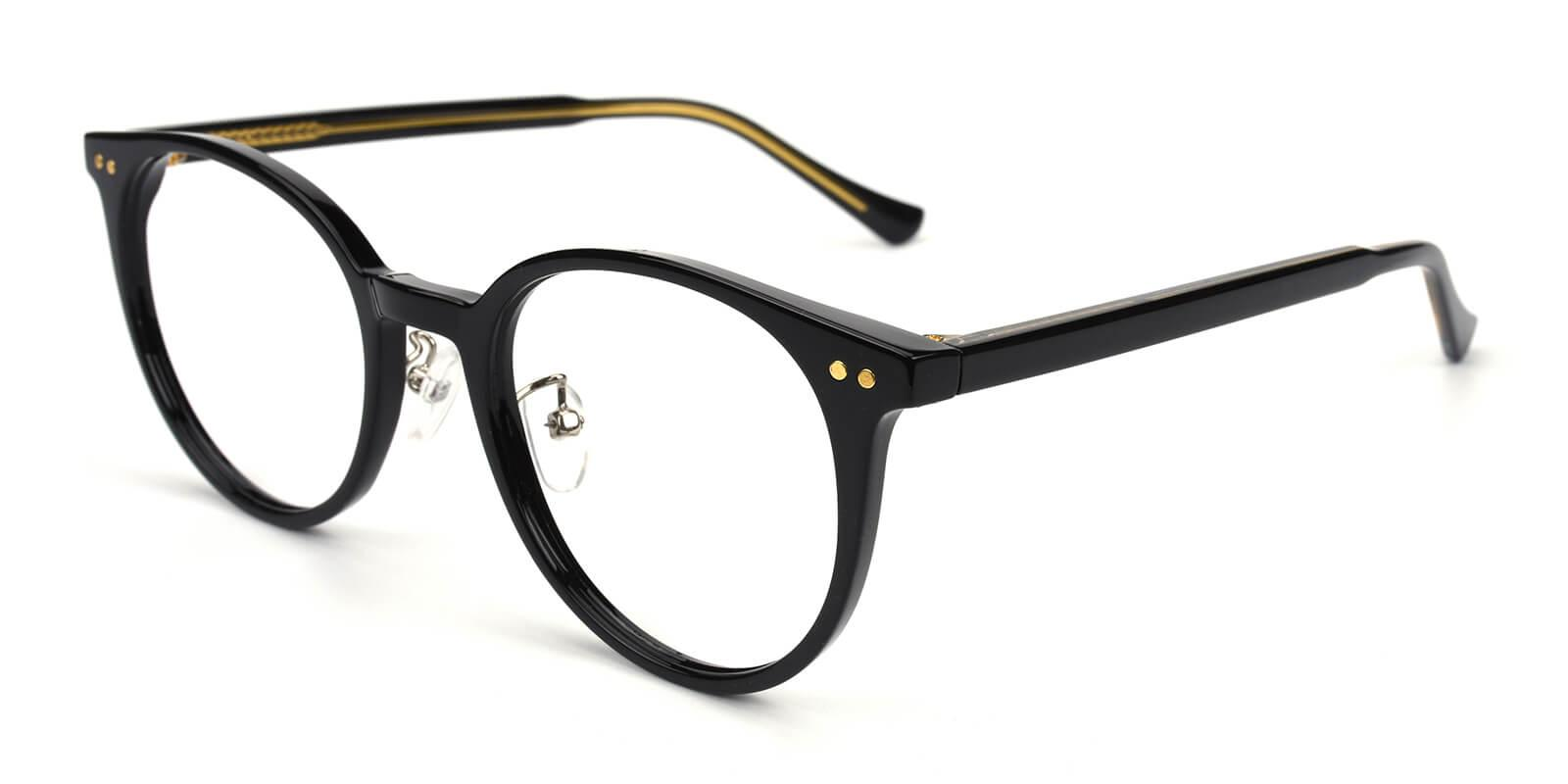 Freak-Black-Round-Acetate-Eyeglasses-detail