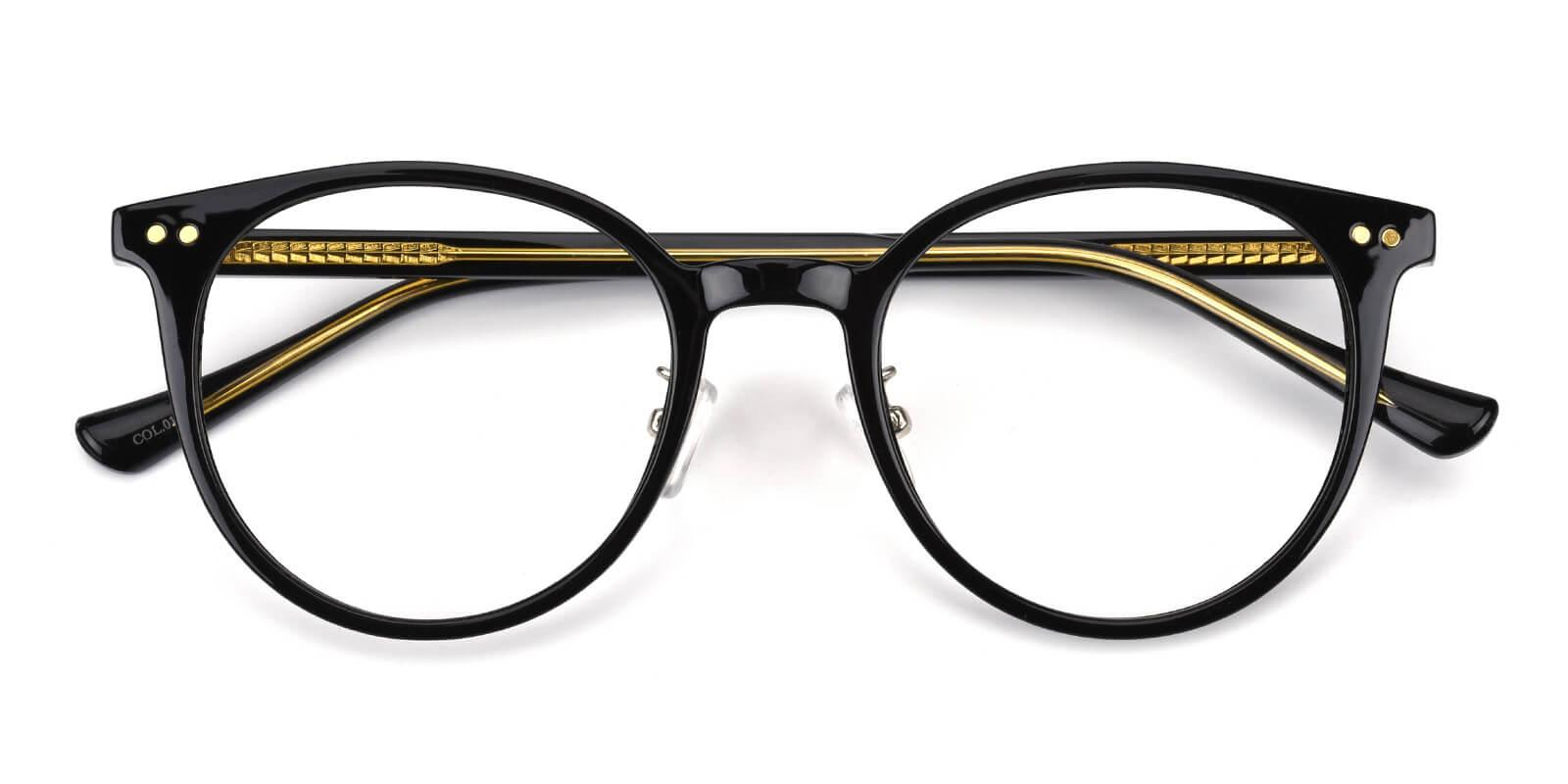 Freak-Black-Round-Acetate-Eyeglasses-detail