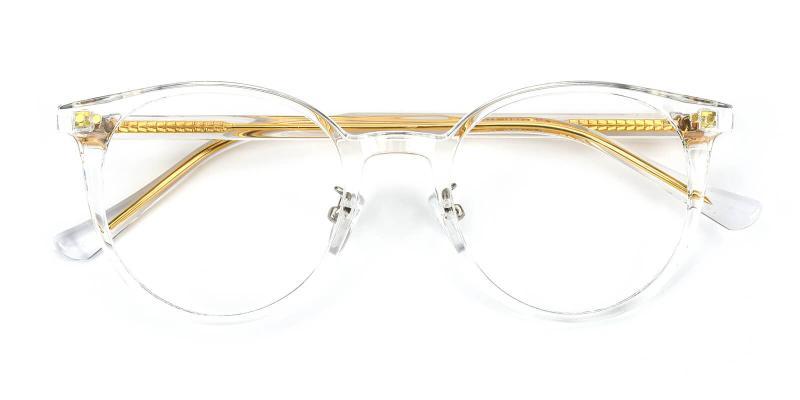 Freak-White-Eyeglasses / Fashion / NosePads / SpringHinges / UniversalBridgeFit