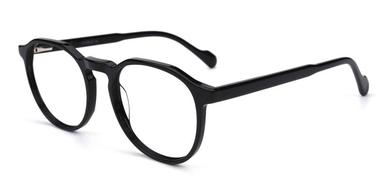 Merimis-Black-Eyeglasses