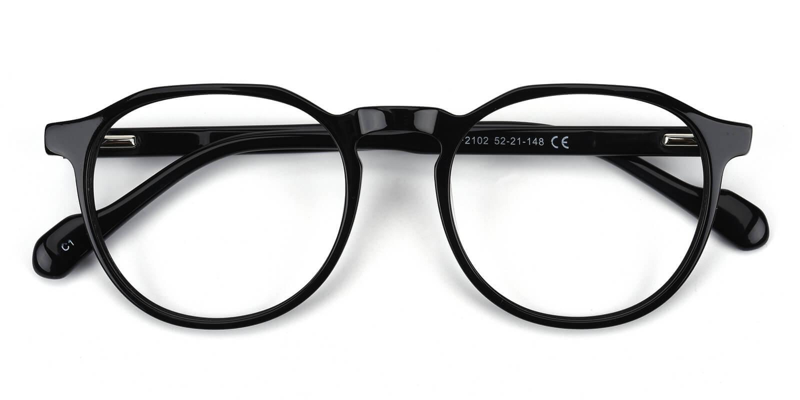 Merimis-Black-Round-TR-Eyeglasses-detail