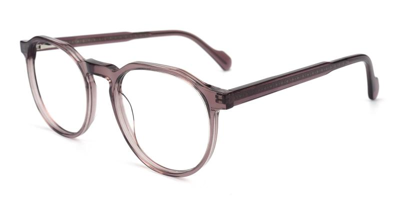 Merimis-Purple-Eyeglasses / Fashion / SpringHinges / UniversalBridgeFit