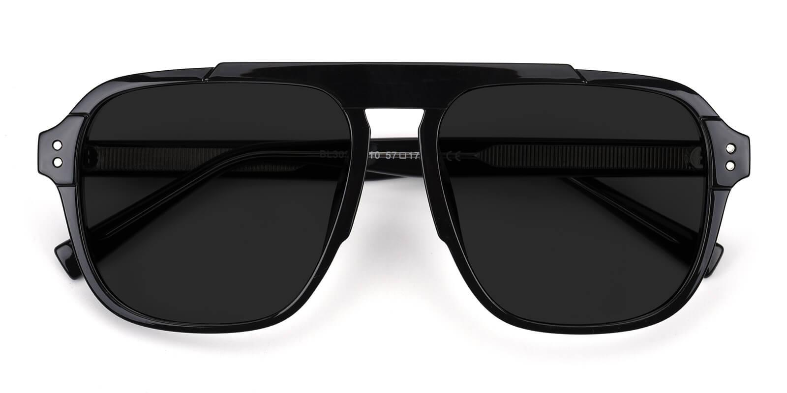 Shoren-Black-Square-Acetate-Sunglasses-detail