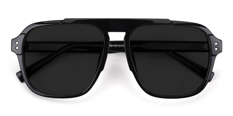 Shoren-Black-Sunglasses