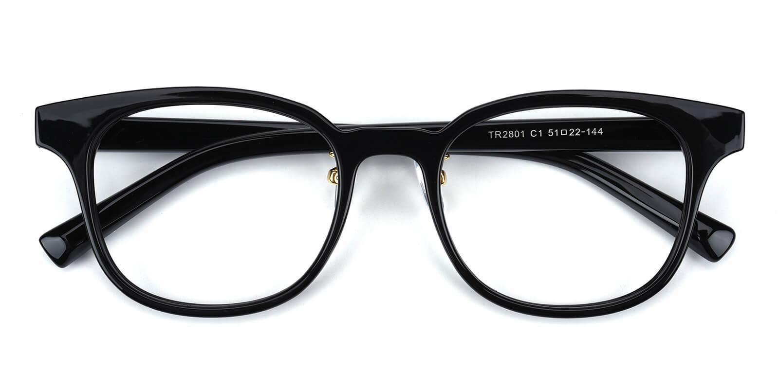 Durns-Black-Square-TR-Eyeglasses-detail