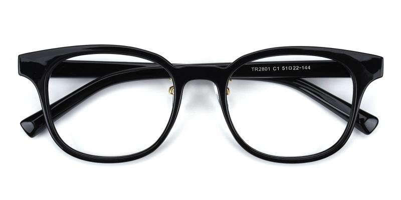 Durns-Black-Eyeglasses