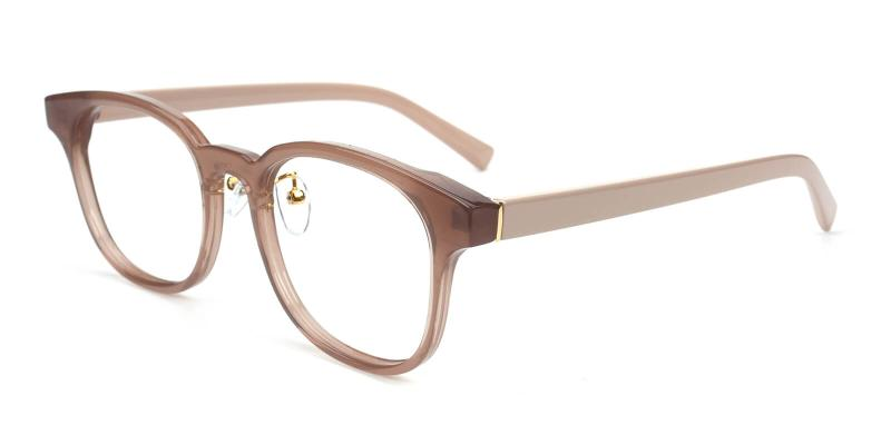 Durns-Brown-Eyeglasses / Fashion / SpringHinges / UniversalBridgeFit