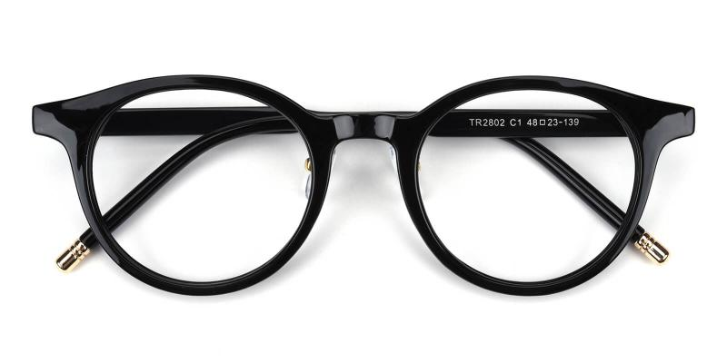 Kron-Black-Eyeglasses