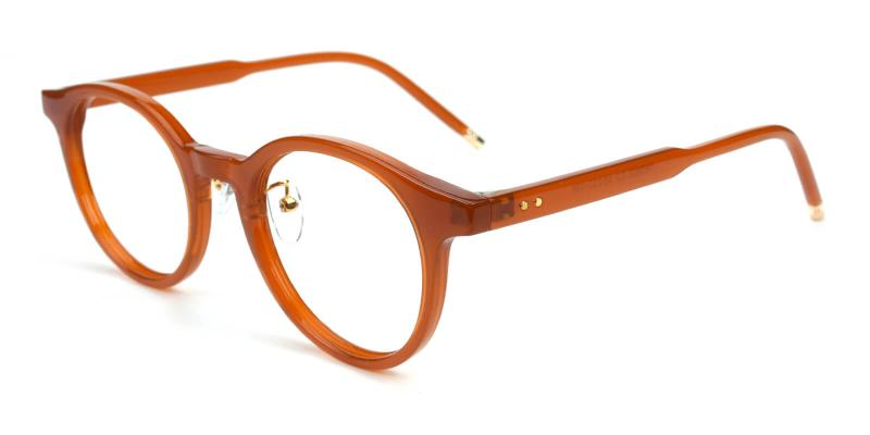 Kron-Brown-Eyeglasses