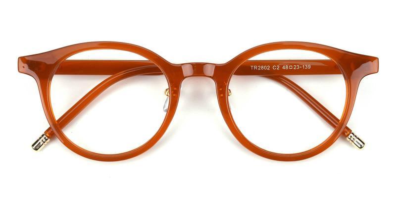 Kron-Brown-Eyeglasses / Fashion / SpringHinges / UniversalBridgeFit