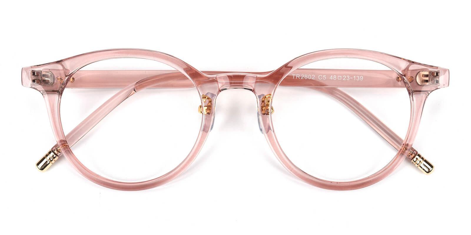Kron-Pink-Round-TR-Eyeglasses-detail