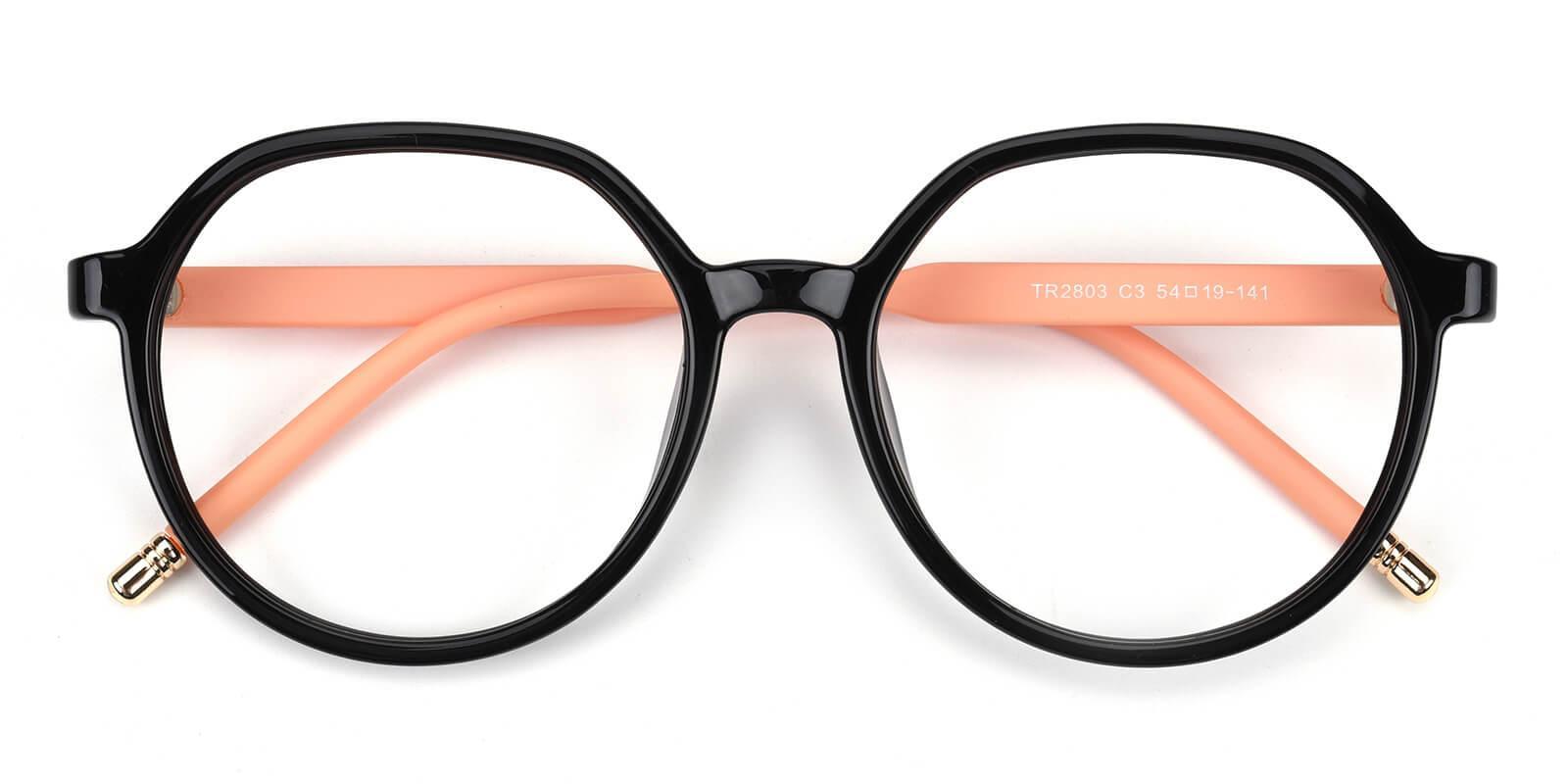 ToBoi-Black-Round-TR-Eyeglasses-detail