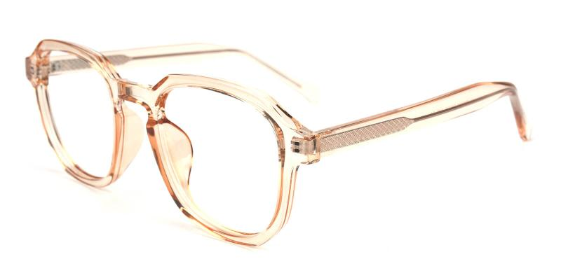 Emmar-Orange-Eyeglasses