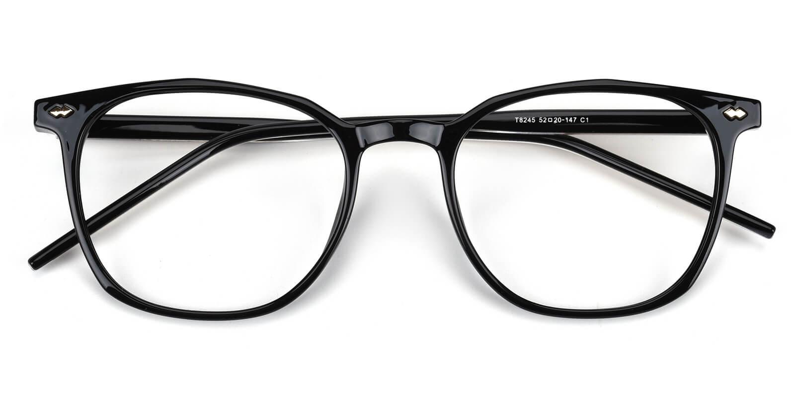 Linking-Black-Round-Acetate-Eyeglasses-detail