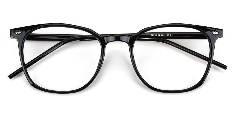 Linking-Black-Eyeglasses