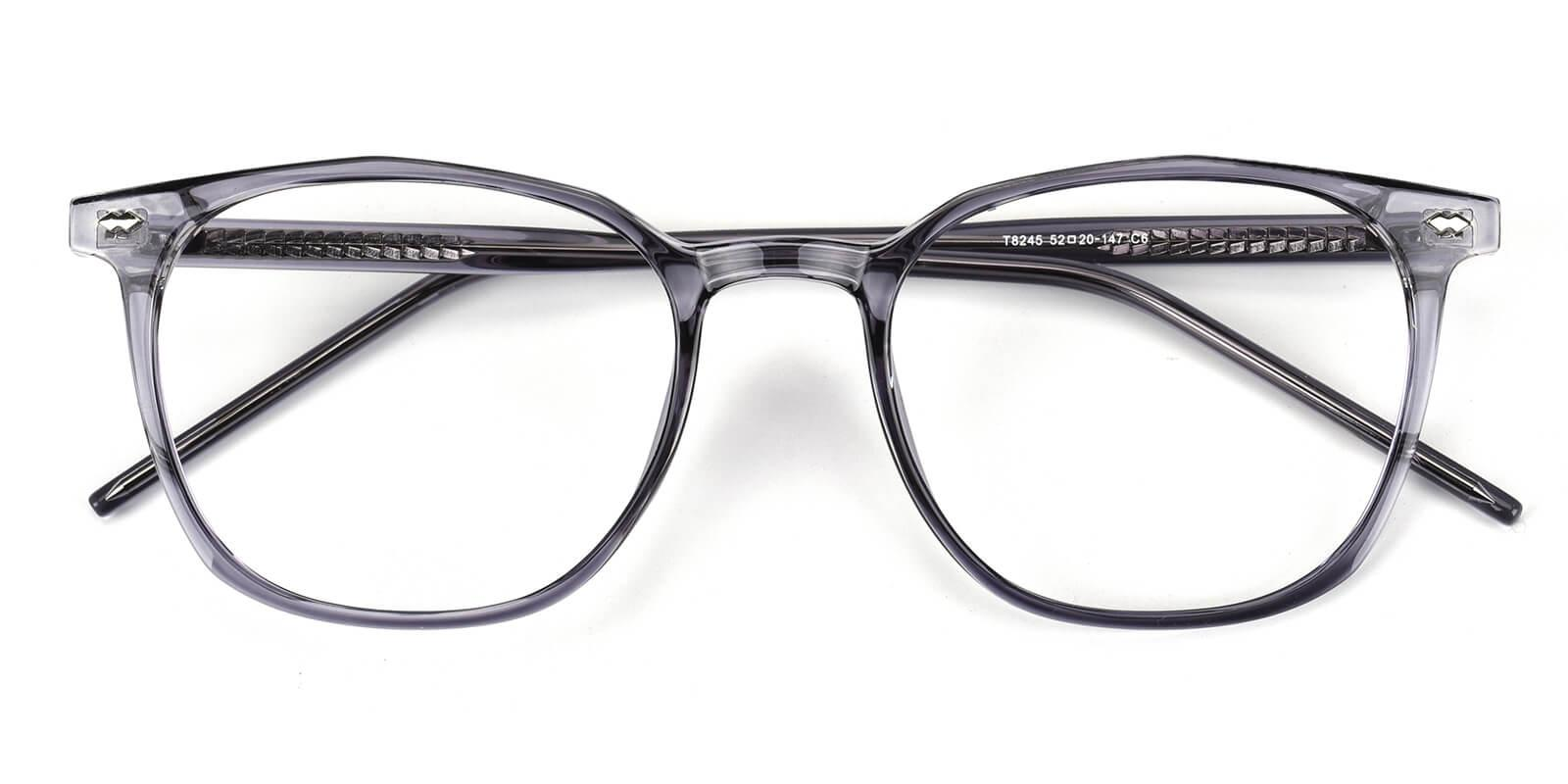 Linking-Gray-Round-Acetate-Eyeglasses-detail