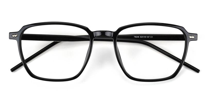 Rolita-Black-Eyeglasses