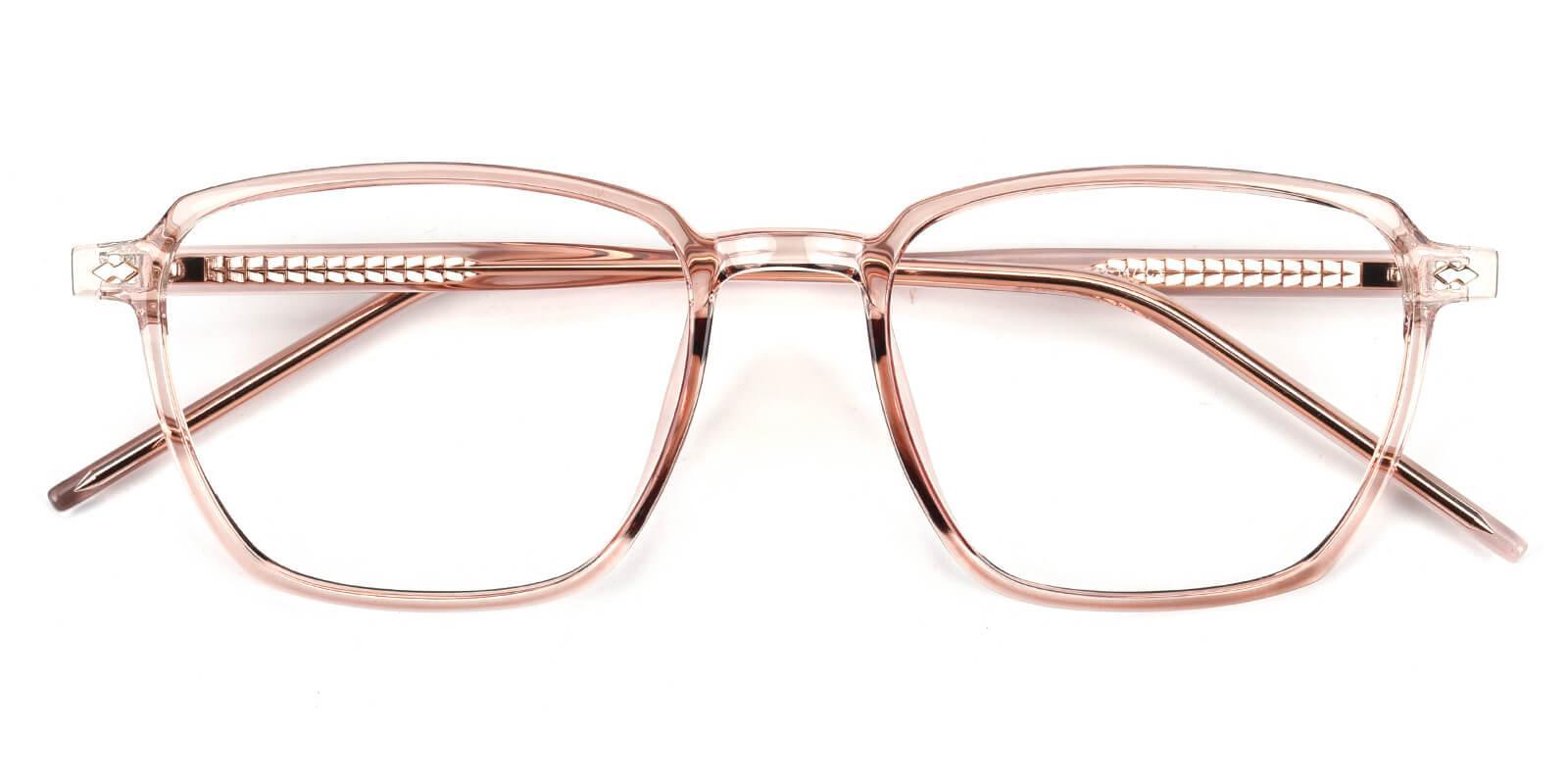 Rolita-Pink-Square-Acetate / TR-Eyeglasses-detail
