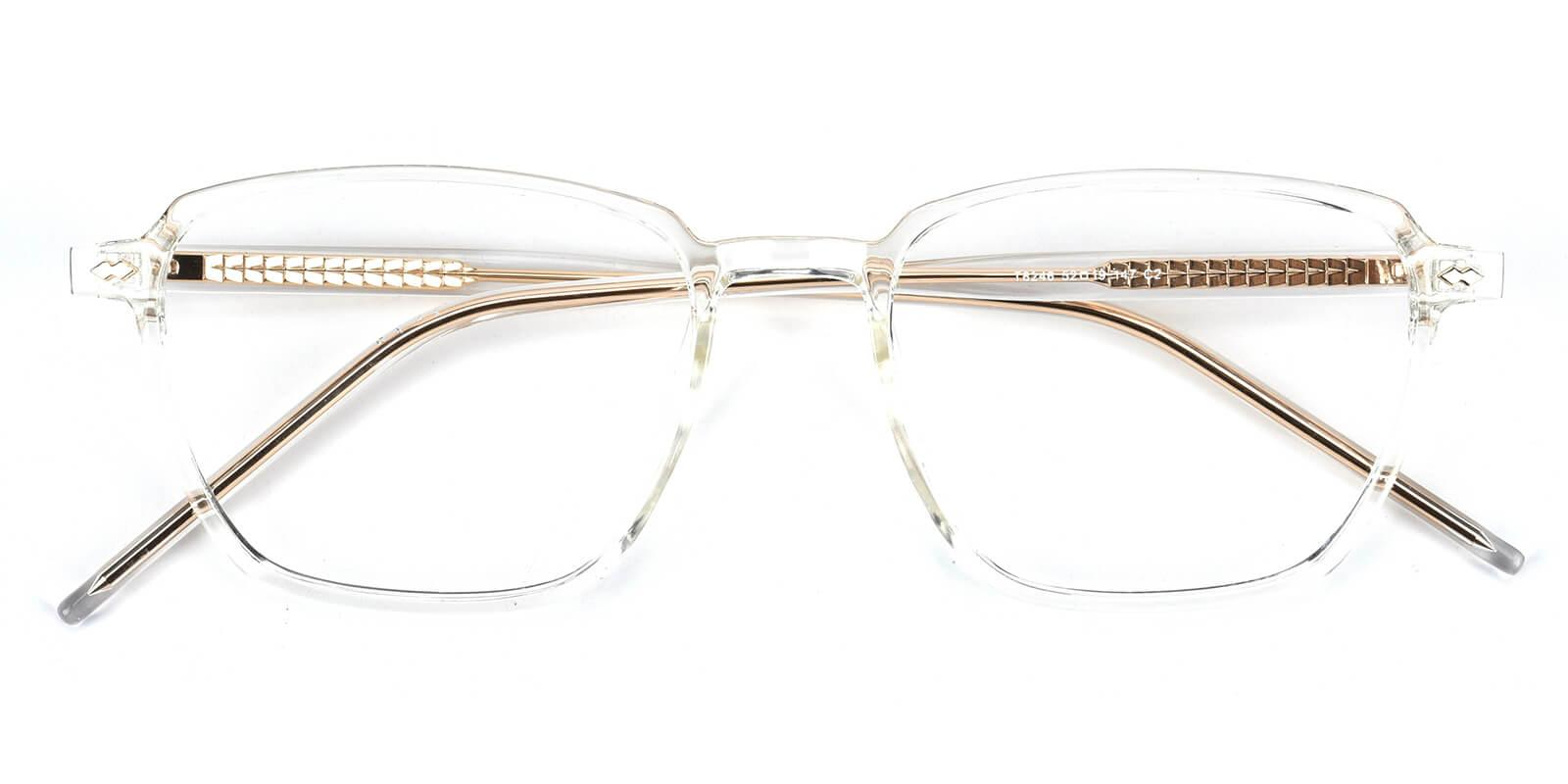 Rolita-Translucent-Square-Acetate / TR-Eyeglasses-detail