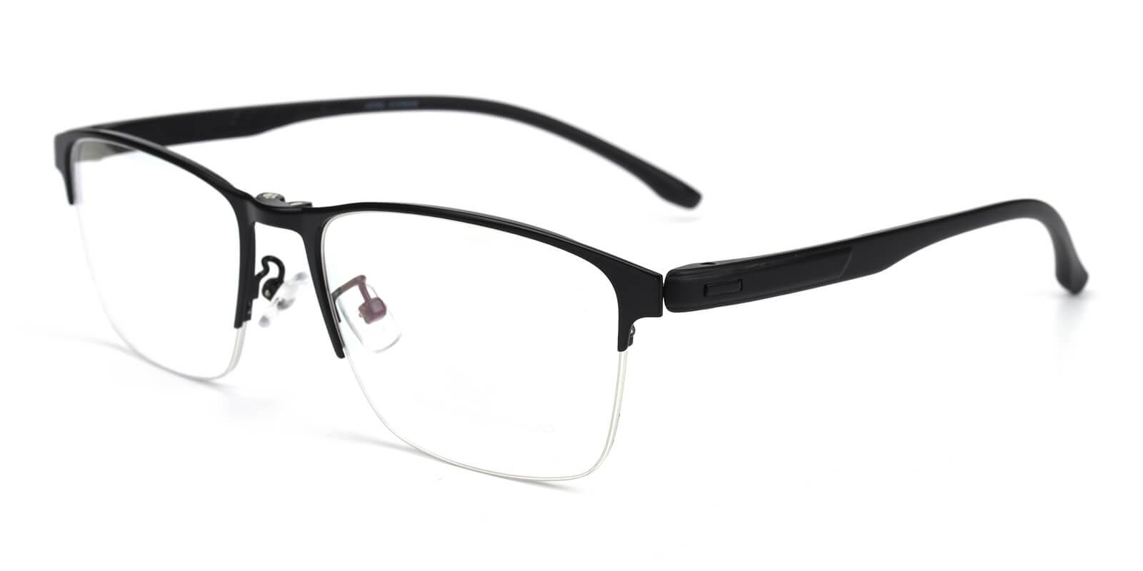Erisy-Black-Rectangle-Metal-Eyeglasses-additional1