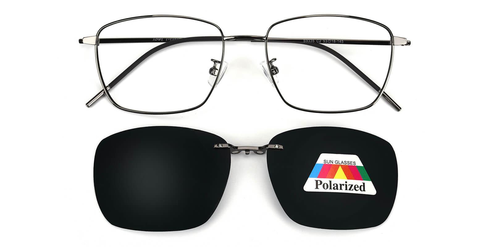 Ruff-Gun-Square-Metal-Eyeglasses-detail