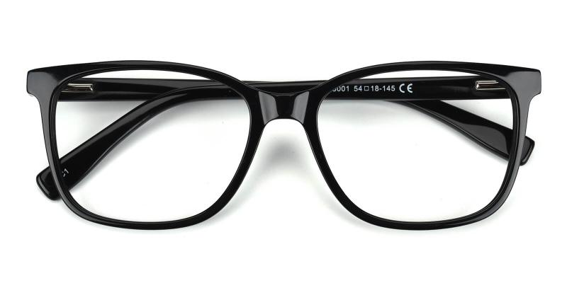 Defeny-Black-Eyeglasses