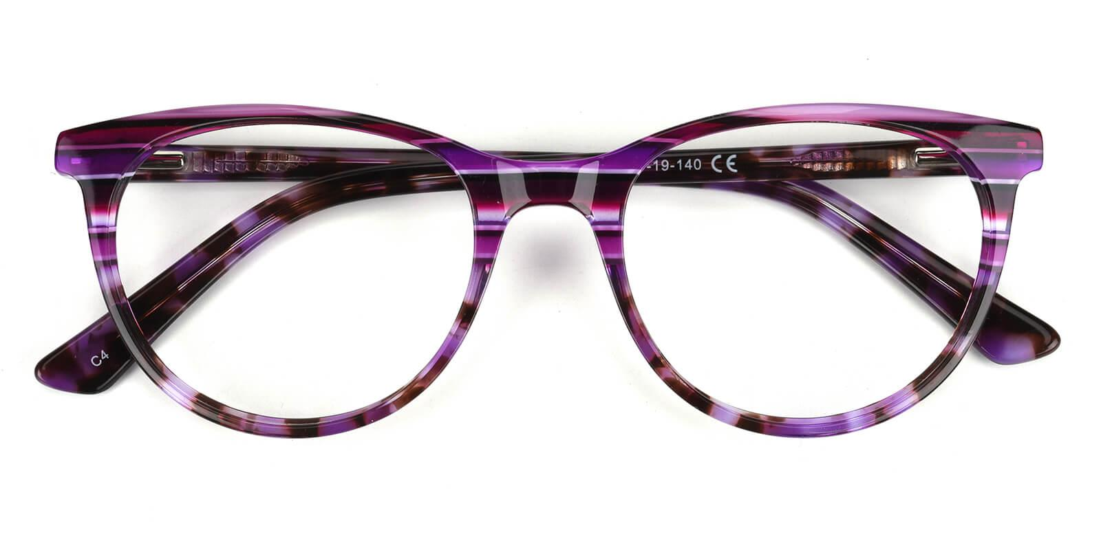 Lankas-Purple-Cat-Acetate-Eyeglasses-detail