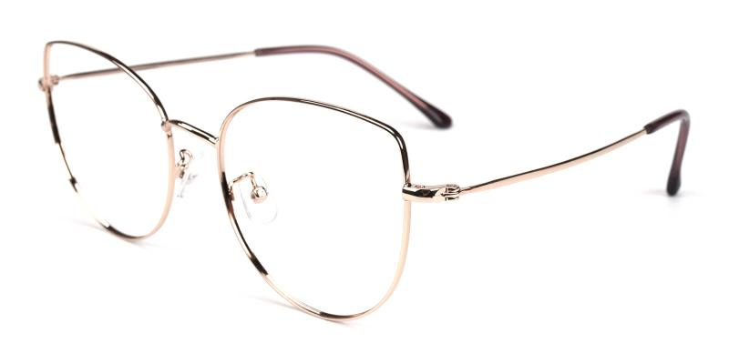 Kayla-Gold-Eyeglasses