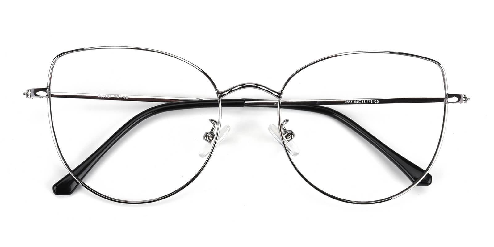 Kayla-Silver-Cat-Metal-Eyeglasses-detail