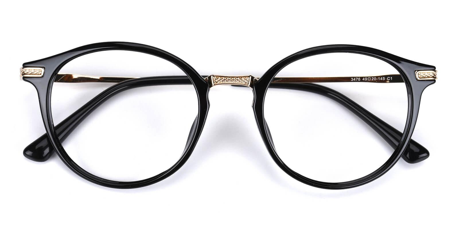 Rebel-Black-Round-Combination-Eyeglasses-detail