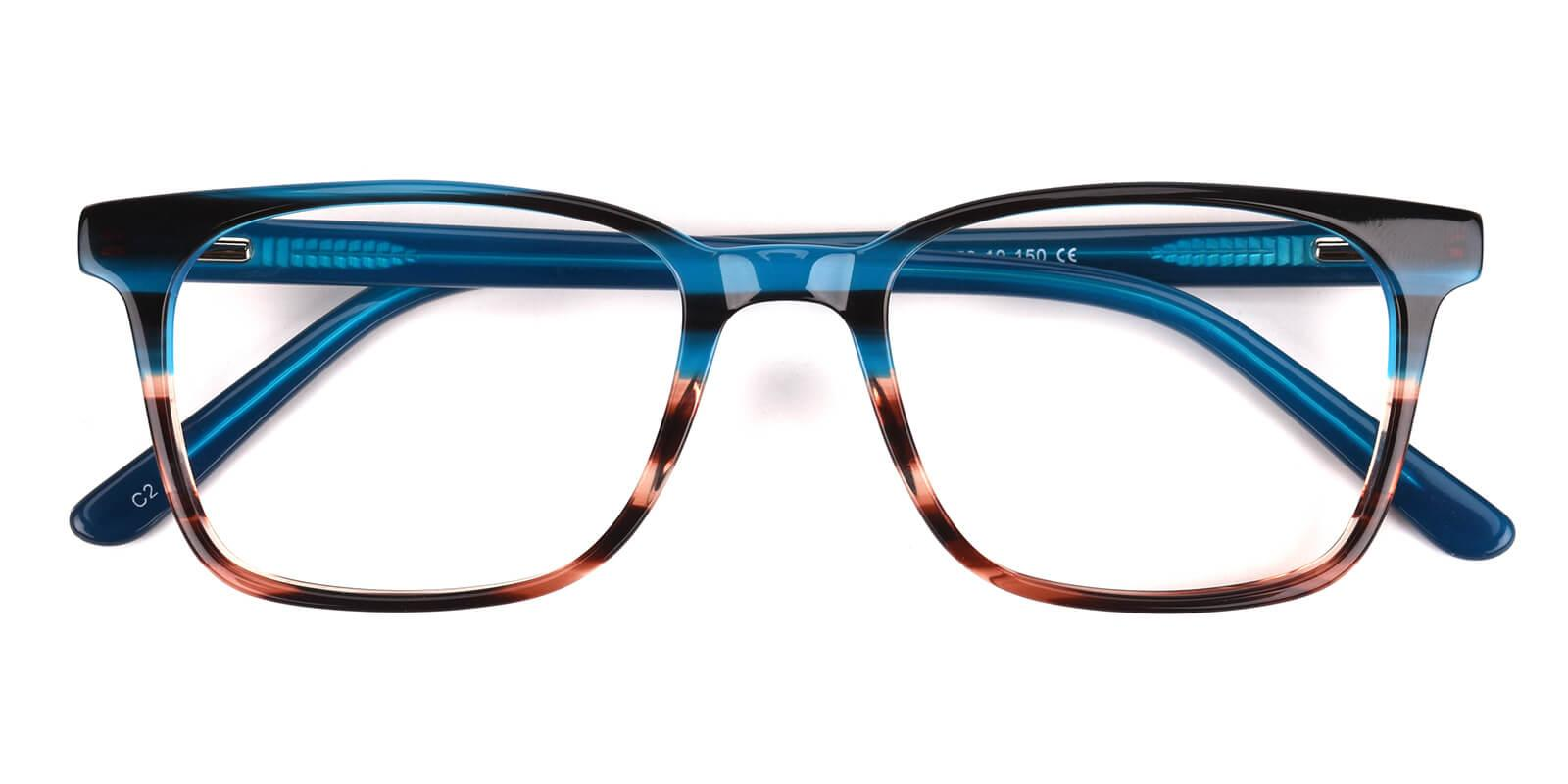 Kattan-Blue-Square-Acetate-Eyeglasses-detail