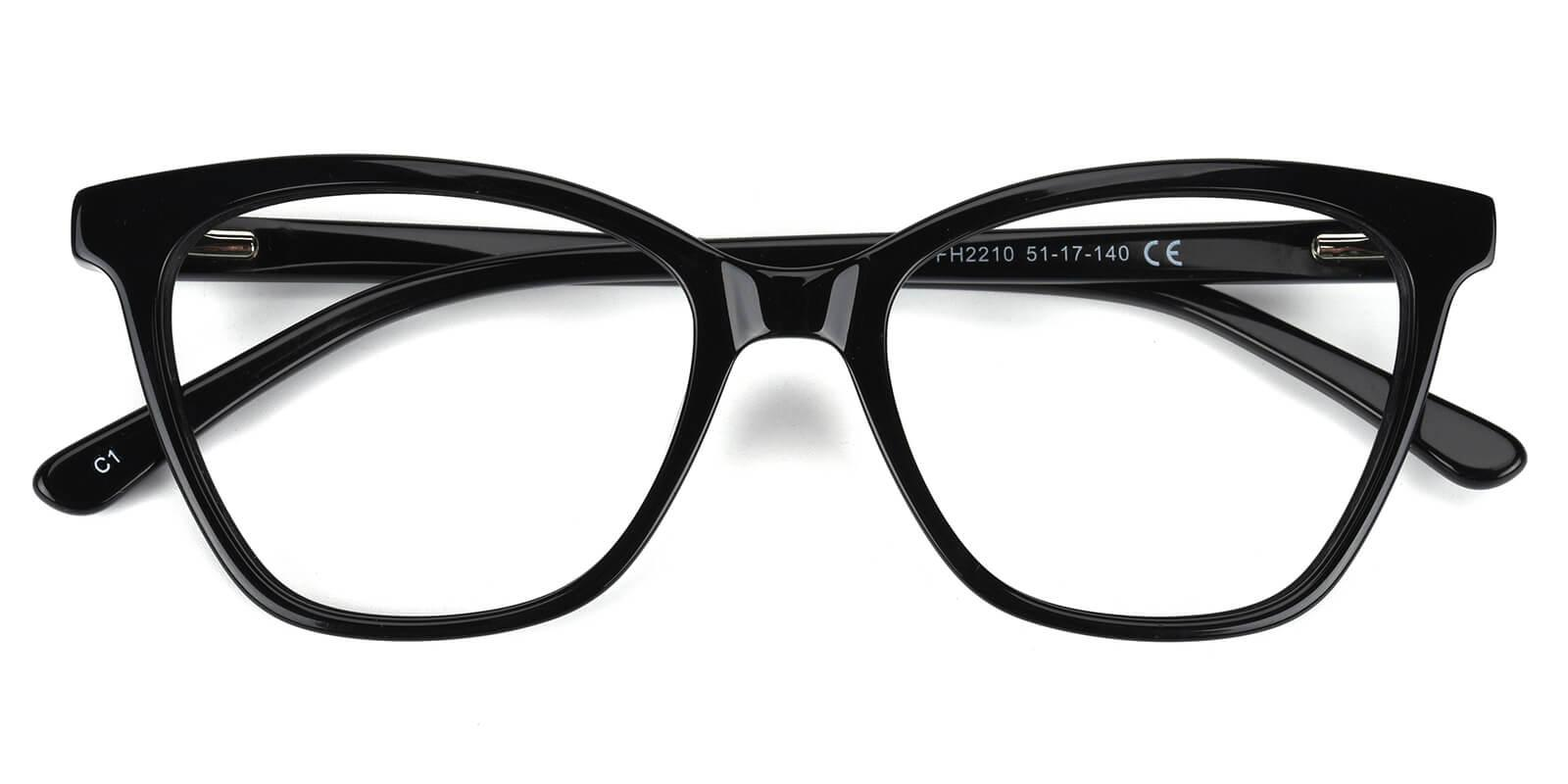 Castely-Black-Cat-Acetate-Eyeglasses-detail