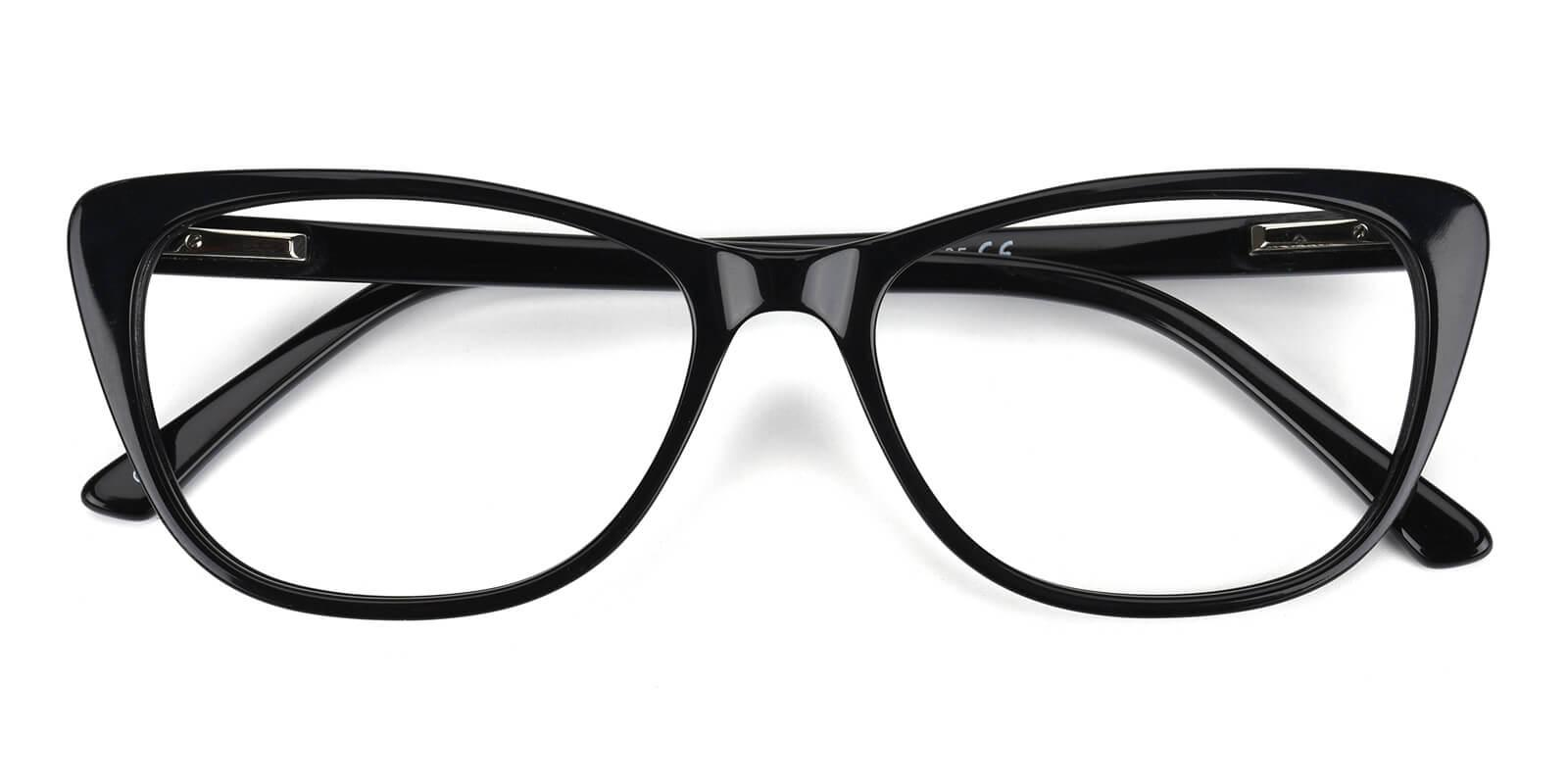 Tersaki-Black-Cat-Acetate-Eyeglasses-detail