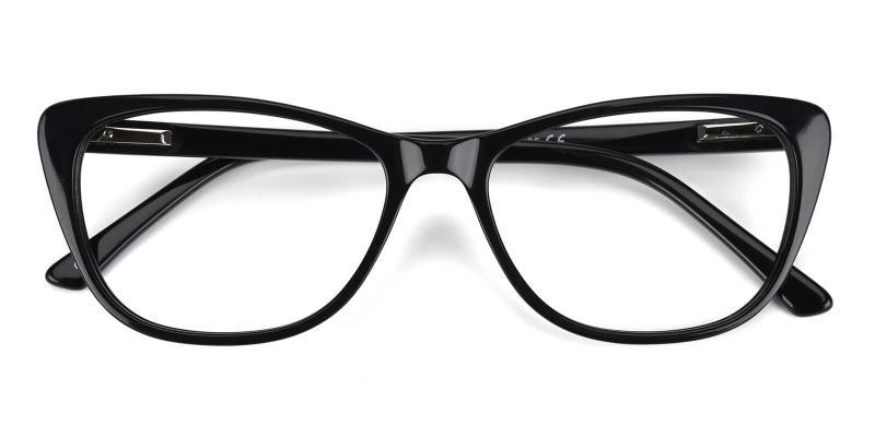 Tersaki-Black-Eyeglasses