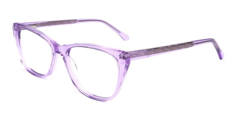 Tersaki-Purple-Eyeglasses