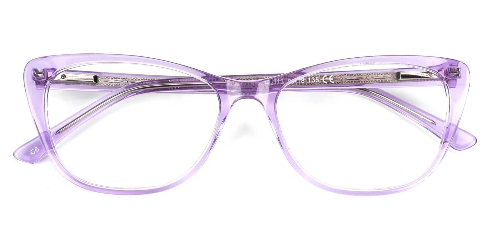 Tersaki-Purple-Cat-Acetate-Eyeglasses-detail