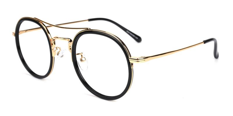 Teddy-Gold-Eyeglasses
