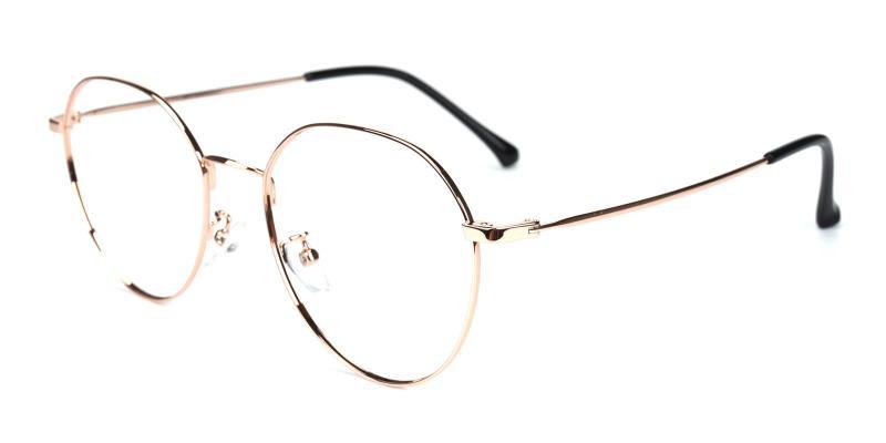 Maya-Gold-Eyeglasses