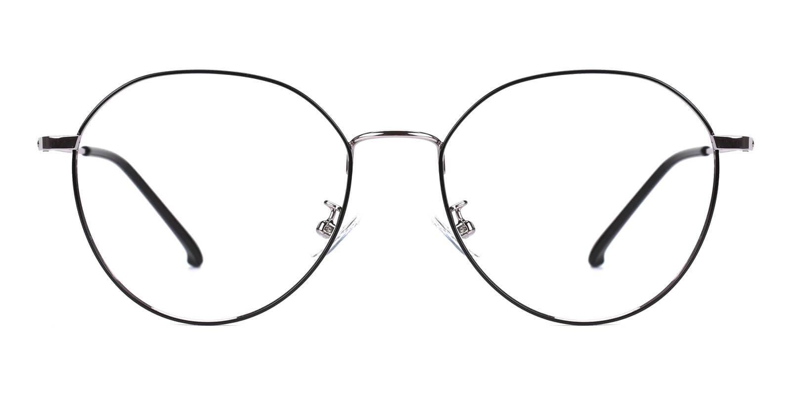 Maya-Silver-Round-Metal-Eyeglasses-detail