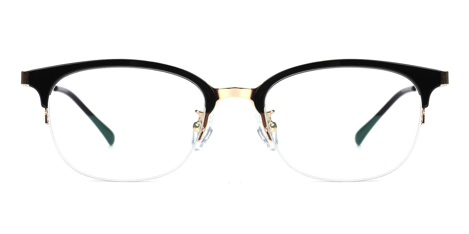 Snob-Black-Browline-Combination-Eyeglasses-detail