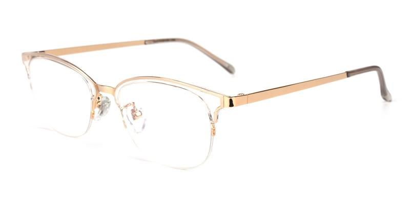 Snob-Gold-Eyeglasses