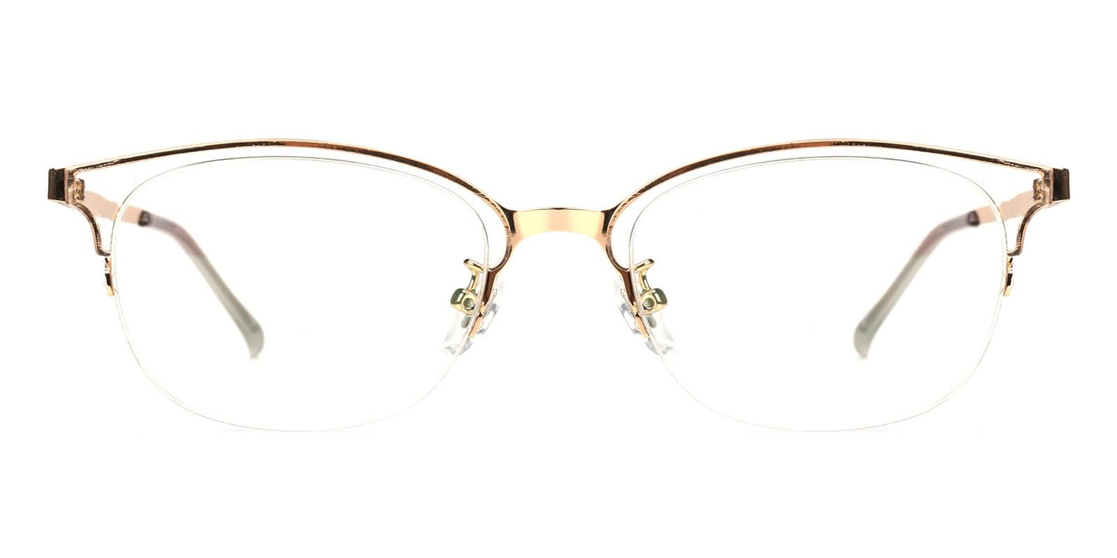 Snob-Gold-Browline-Combination-Eyeglasses-detail
