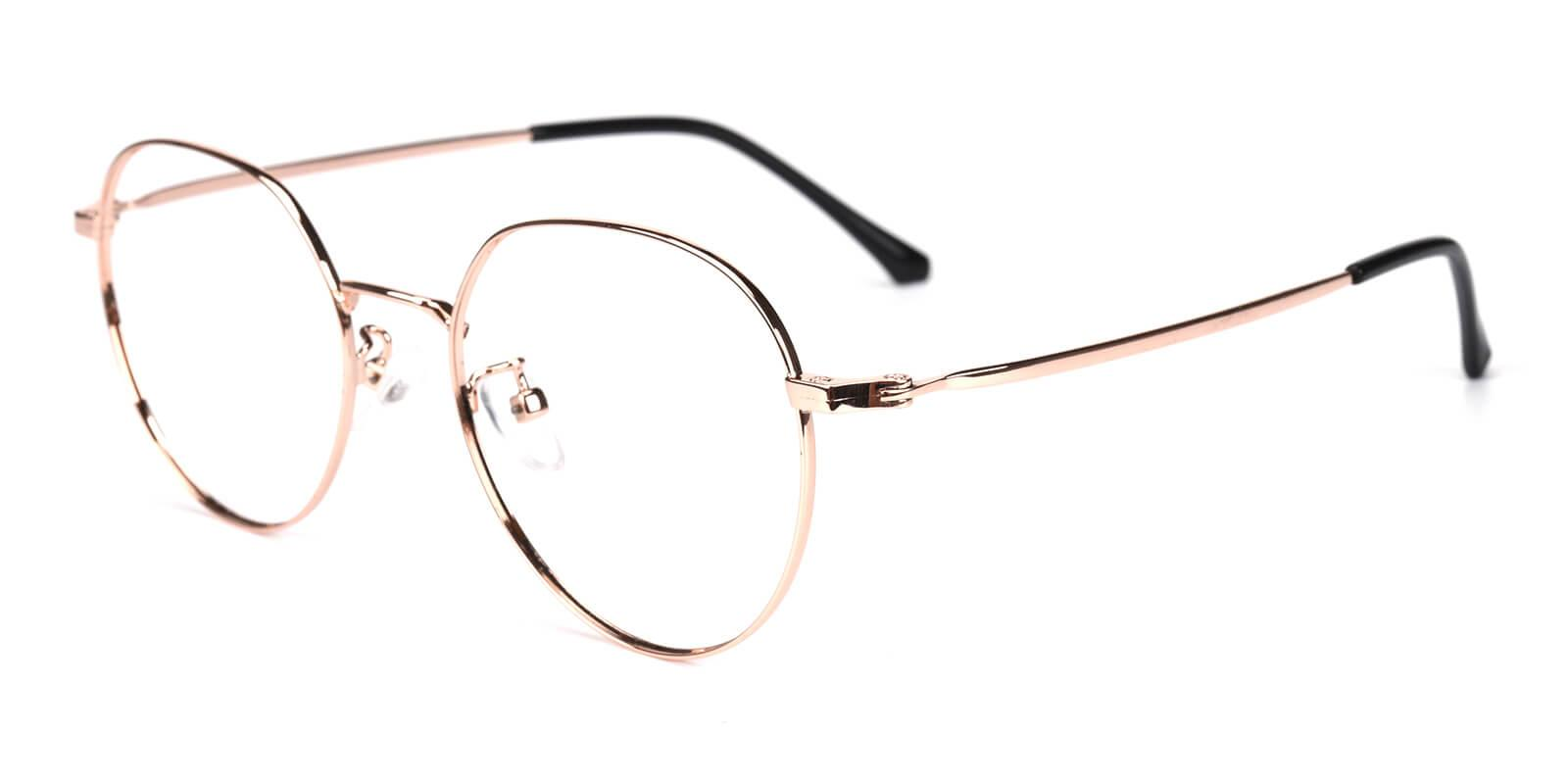 Amorous-Gold-Round-Metal-Eyeglasses-additional1