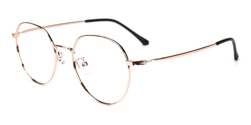 Amorous-Gold-Eyeglasses