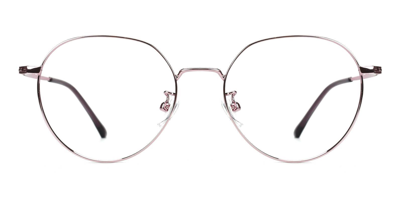 Amorous-Purple-Round-Metal-Eyeglasses-additional2