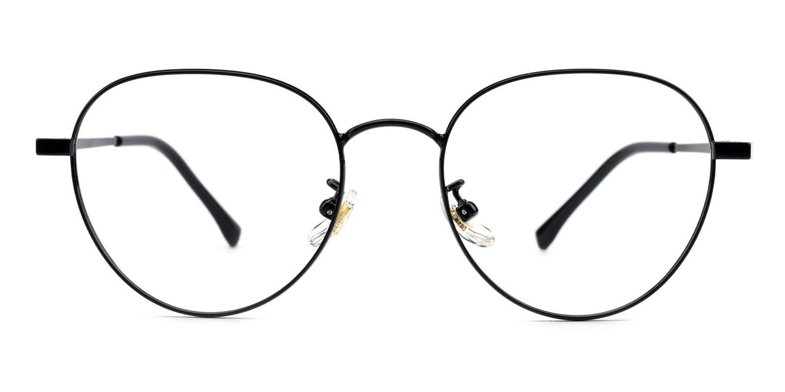 Serina-Black-Round-Titanium-Eyeglasses-additional2