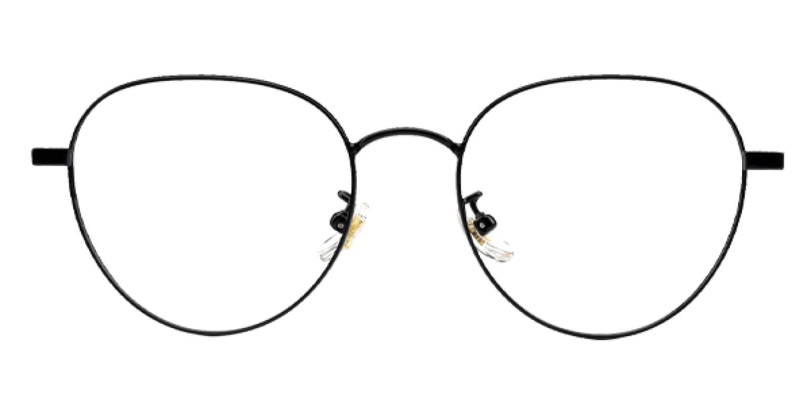 Serina-Black-Round-Titanium-Eyeglasses-additional4