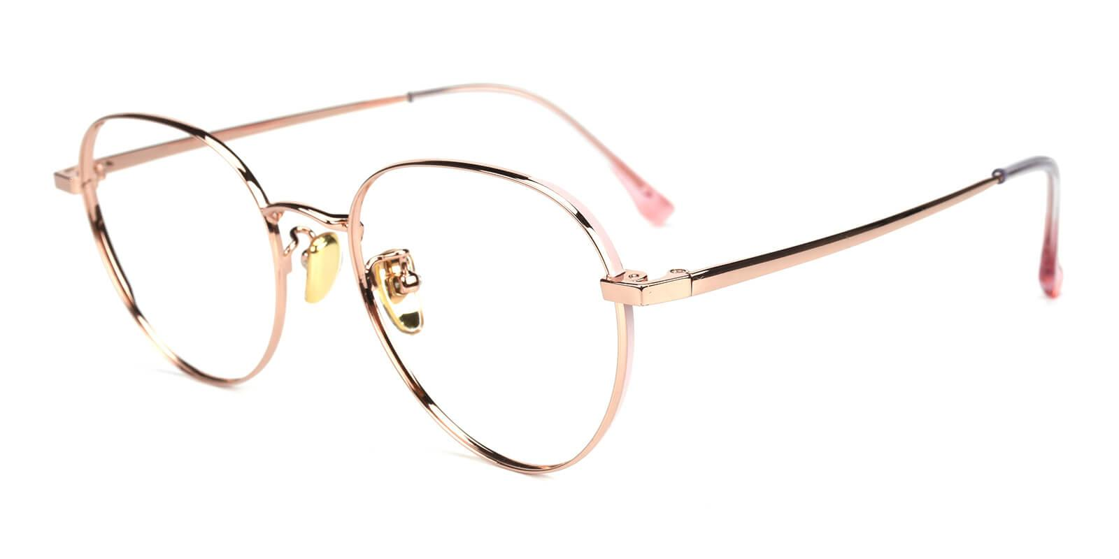 Serina-Gold-Round-Titanium-Eyeglasses-additional1