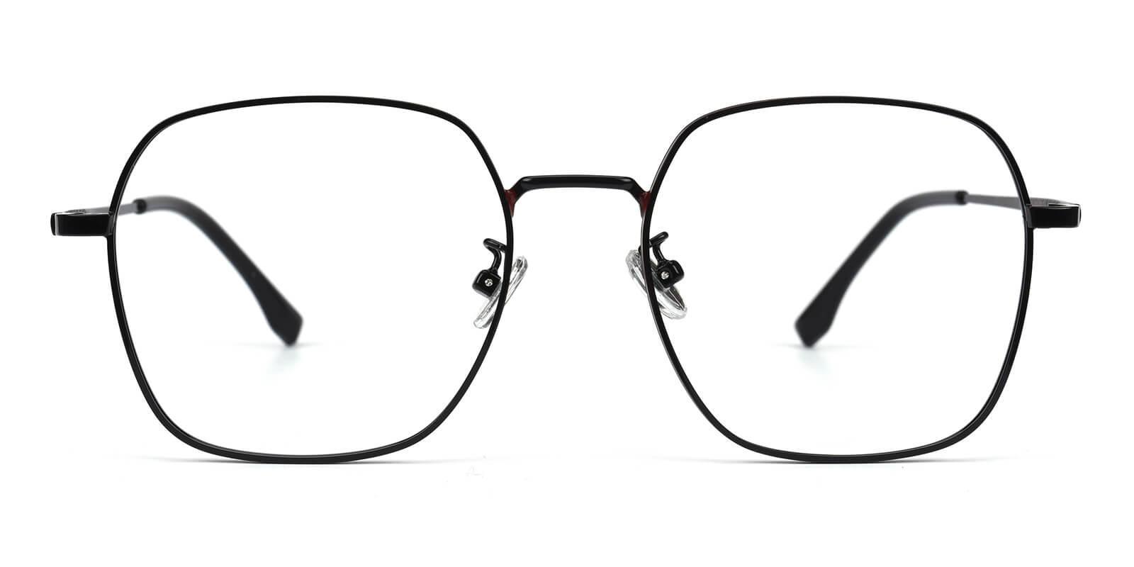 Vincoy-Black-Square-Metal-Eyeglasses-additional2