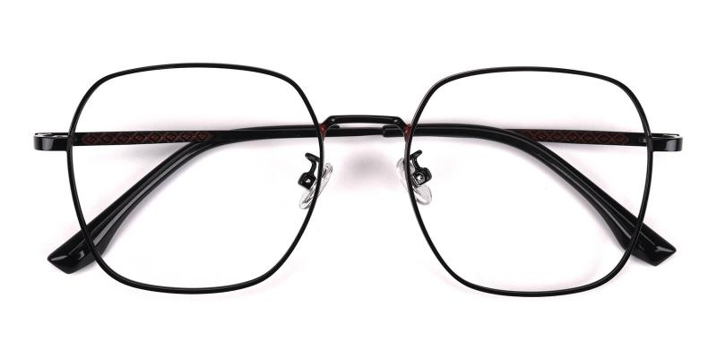 Vincoy-Black-Eyeglasses